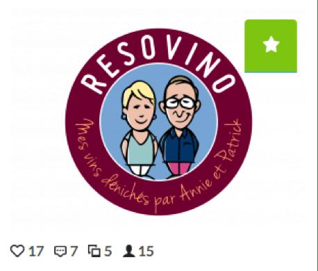 Logo de la marque Resovino favori 1 Creads